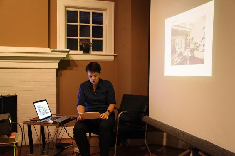 Storhile lecturing at INCA
